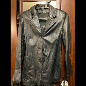 Daniel Leather Jacket XS (6-8)